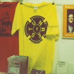 UNREST Invoking Osiris Tee-shirt yellow