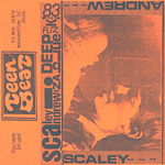 Scaley Andrew In a Deep Blue Funk cassette album orange