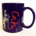 UNREST Make Coffee Club coffee mug back