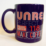 UNREST Make Coffee Club coffee mug front
