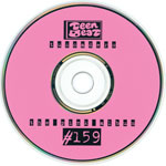 TUSCADERO The Pink Album CD label first second third fourth edition