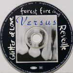 VERSUS Glitter of Love CD label