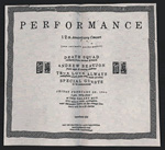Teen-Beat 12th Anniversary performance flyer