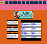 Teen Beat website 1999 the artists page