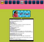 Teen Beat website 1999 the On Tour page
