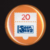 TEEN-BEAT 20th Anniversary, commemorative pin No.1