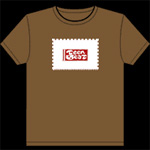 Teen-Beat<br> 20th Commemorative t-shirt brown
