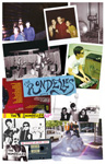 THE RONDELLES In Your Face CD  poster front