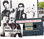 THE RONDELLES In Your Face CD  album
