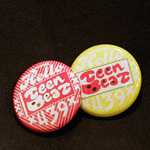 Teen-Beat Hello Welcome Teenbeat badges