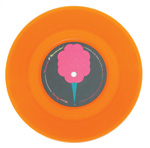 COTTON CANDY Fantastic and Spectacular 7-inch vinyl 45 orange vinyl